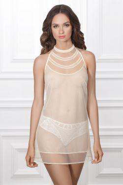 Ночная сорочка ADRIANA - Jasmine Lingerie молочный