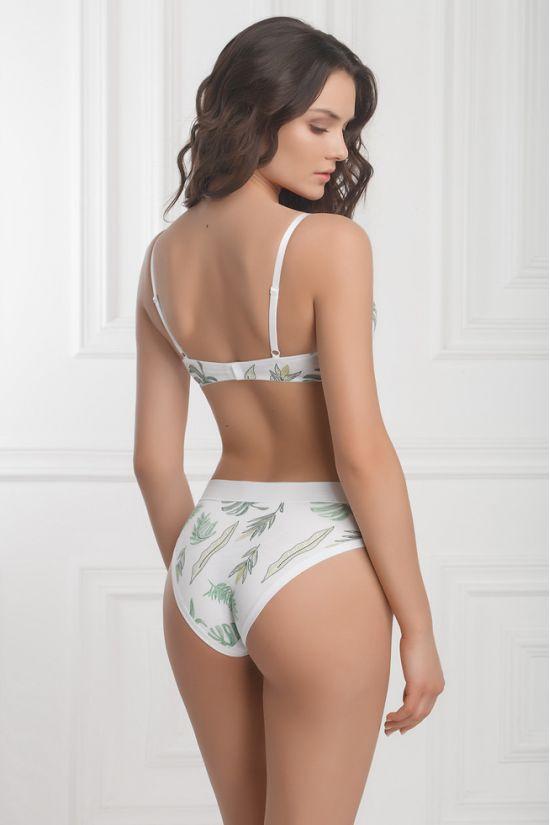 Бюстгальтер DELL - Jasmine Lingerie, цвет: белый/зеленый