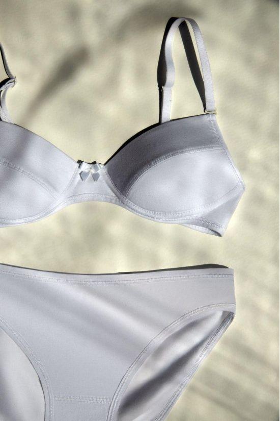 Бюстгальтер підлітковий MAYA - Jasmine Lingerie, колір: білий