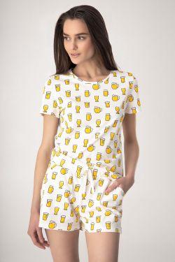 Піжама (футболка+шорти) Daria - Jasmine Lingerie