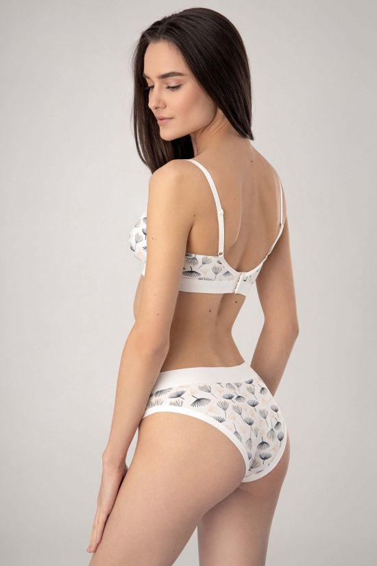 Браллет KOBI - Jasmine Lingerie; цвет молочный/серый