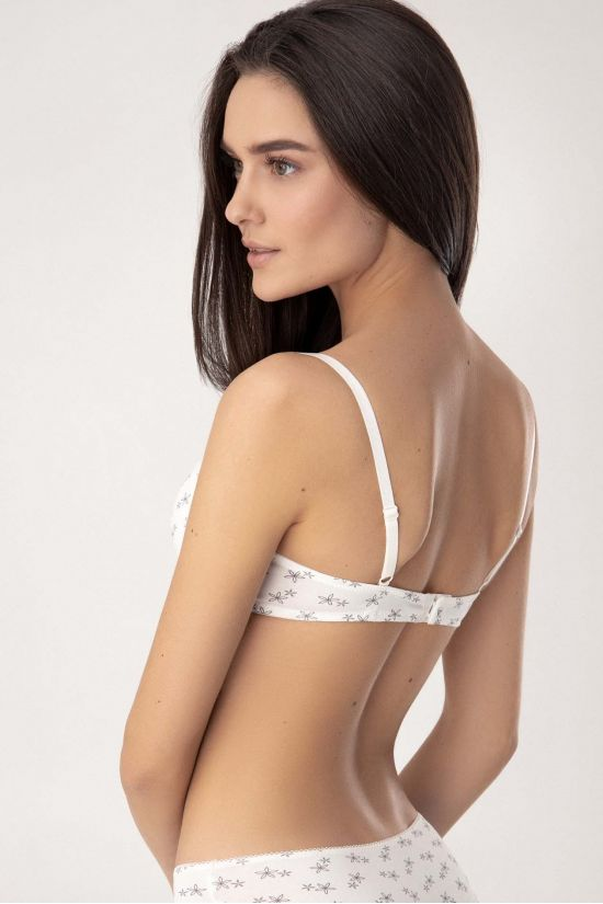 Бюстгальтер OLGA - Jasmine Lingerie, колір: молочний/сірий