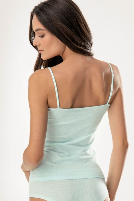 Майка Marlena - Jasmine Lingerie, цвет: ментоловый-молочный