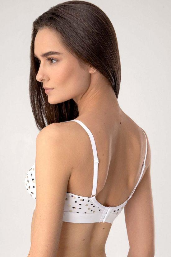 Бралет SEIN - Jasmine Lingerie, колір: біло-чорний