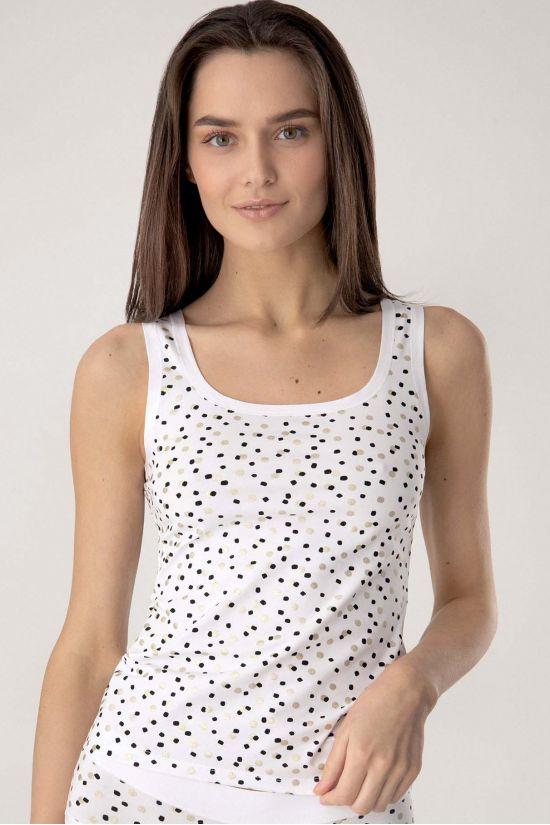 Майка Kiara - Jasmine Lingerie, цвет: бело-черный