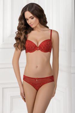 Комплект INET - Jasmine Lingerie  красный