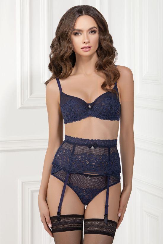 Комплект ELIF - Jasmine Lingerie, колір: синій