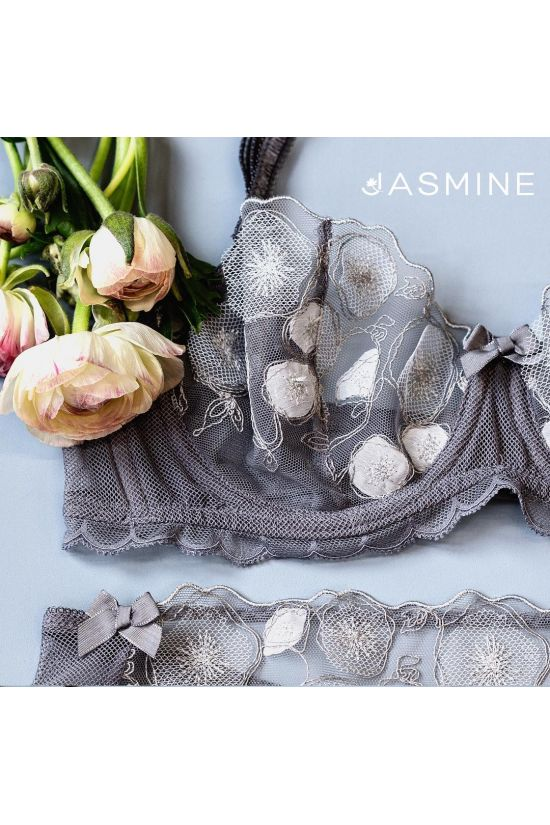 Бюстгальтер LERA - Jasmine Lingerie, колір: сірий