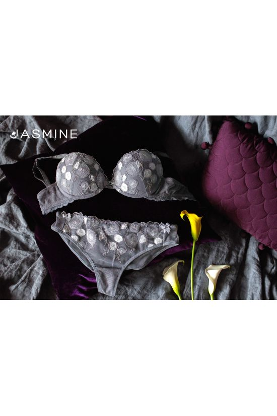 Комплект MAGY - Jasmine Lingerie, цвет: серый