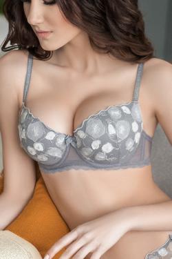 Бюстгальтер SOFY - Jasmine Lingerie серый
