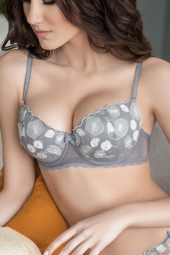 Бюстгальтер SOFY - Jasmine Lingerie, цвет: серый