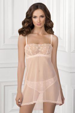 Нічна сорочка JULIANA - Jasmine Lingerie сірий