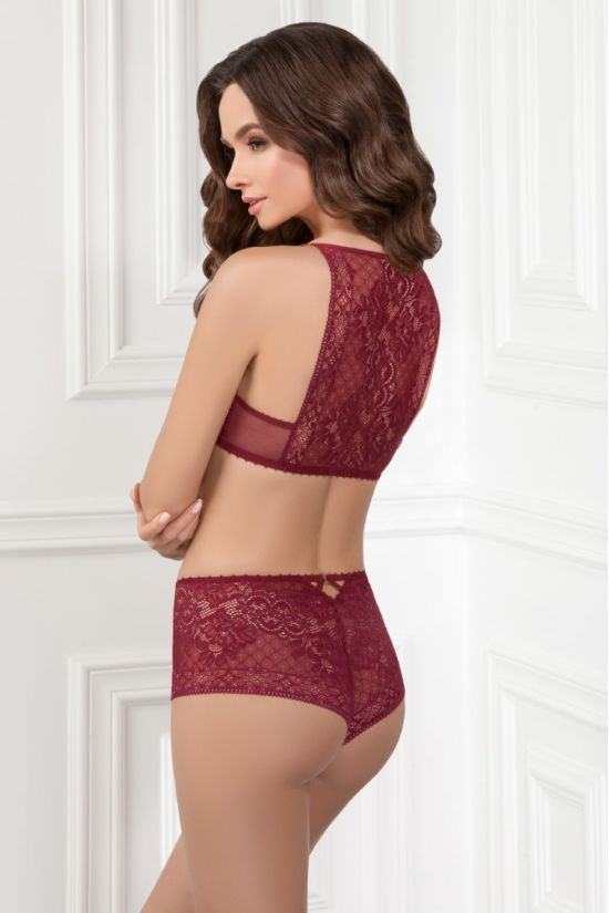 Комплект DORY - Jasmine Lingerie, колір: бордо