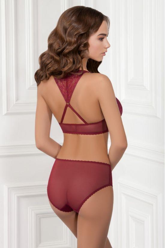 Комплект ILZA - Jasmine Lingerie, колір: бордо