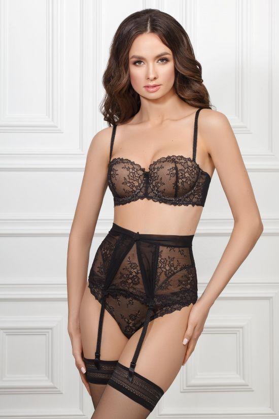Комплект IVEN - Jasmine Lingerie, колір: чорний