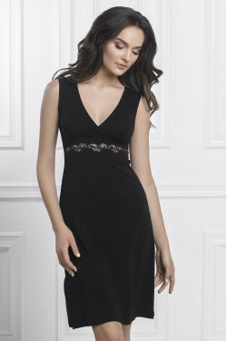 Ночная сорочка Aniela - Jasmine Lingerie черный