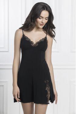 Ночная сорочка Charlotta - Jasmine Lingerie черный