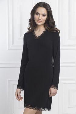 Ночная сорочка Elizabeth - Jasmine Lingerie черный