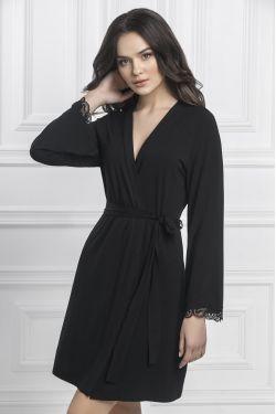 Халат Isabela - Jasmine Lingerie черный