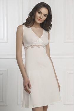 Нічна сорочка Aniela - Jasmine Lingerie молочний