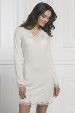 Нічна сорочка Elizabeth - Jasmine Lingerie молочний