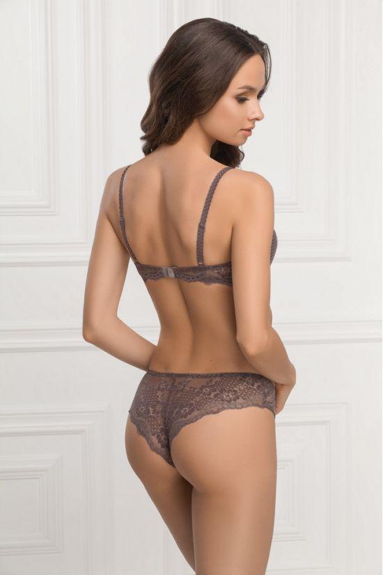 Комплект ELIN - Jasmine Lingerie, колір: сірий/рожевий