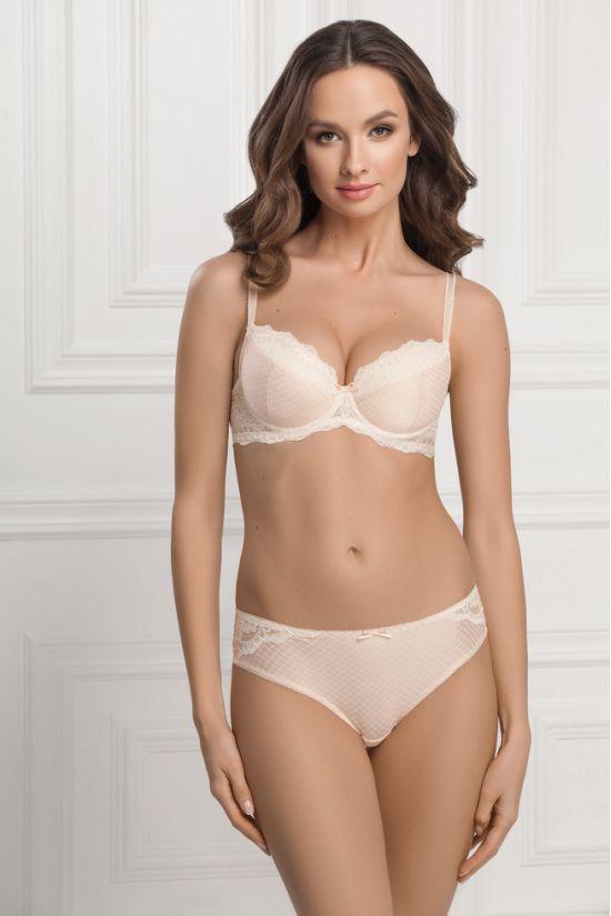 Комплект ELIN - Jasmine Lingerie, цвет: кремовый