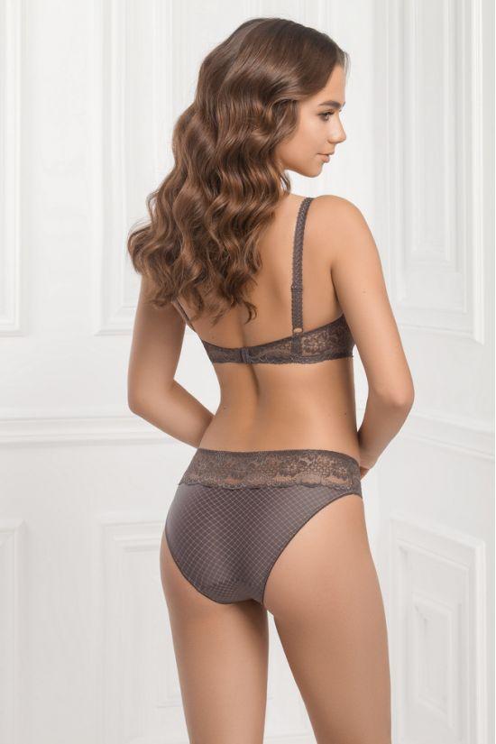 Комплект NILA -  Jasmine Lingerie, колір: сірий/рожевий