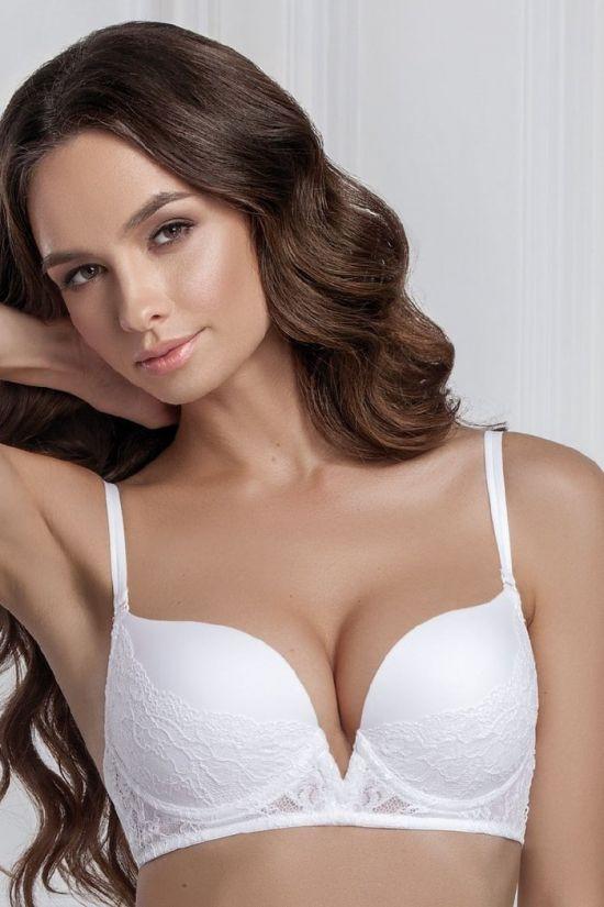 Бюстгальтер LOVE - Jasmine Lingerie, цвет: белый