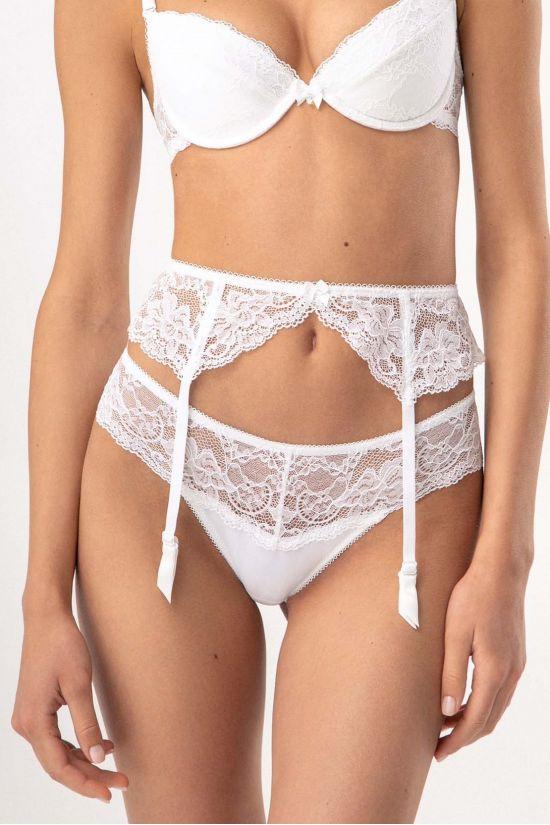 Трусики стрінг ROMANTIC - Jasmine Lingerie, колір: білий