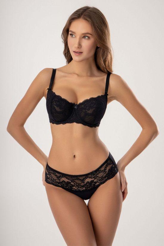 Комплект LUNA - Jasmine Lingerie, цвет: черный