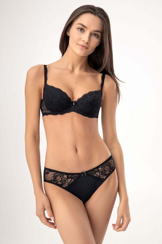 Комплект MUSE - Jasmine Lingerie, колір: чорний