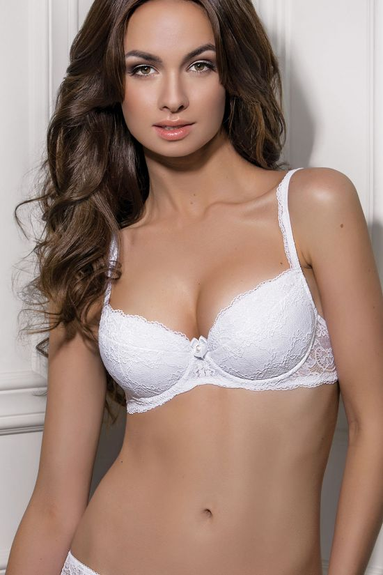 Бюстгальтер MUSE - Jasmine Lingerie, цвет: белый