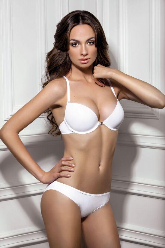 Комплект GRAN - Jasmine Lingerie, цвет: бежевый, цвет: белый