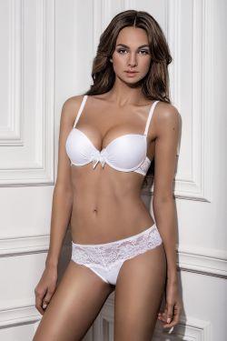 Комплект LUSI - Jasmine Lingerie білий