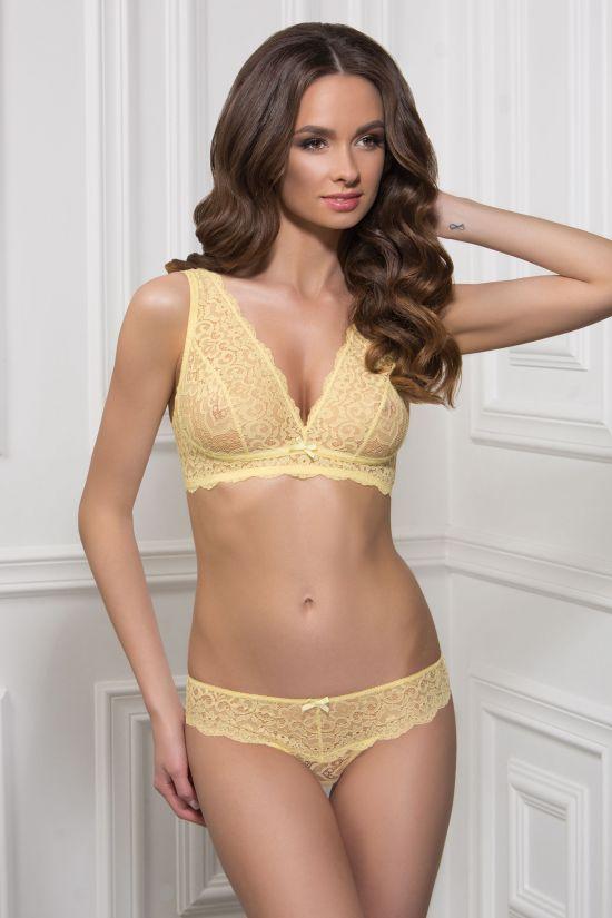 Комплект NAEL - Jasmine Lingerie, колір: жовтий