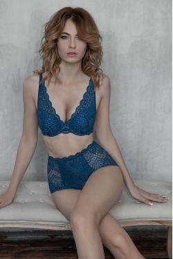 Комплект ELZA - Jasmine Lingerie синій