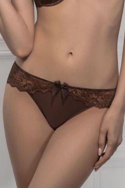 Трусики стринг ENRICA - Jasmine Lingerie коричневый