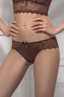 Трусики бразилиан ELENA - Jasmine Lingerie коричневый