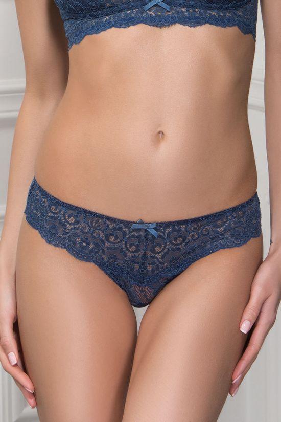 Трусики бразилиан MARSELA - Jasmine Lingerie, цвет: синий