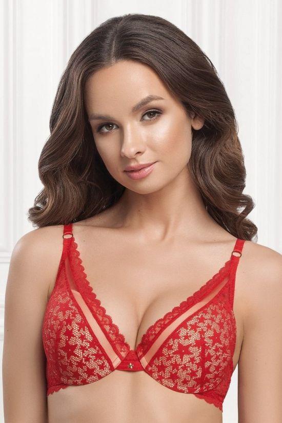 Бюстгальтер NILY - Jasmine Lingerie; цвет: красный