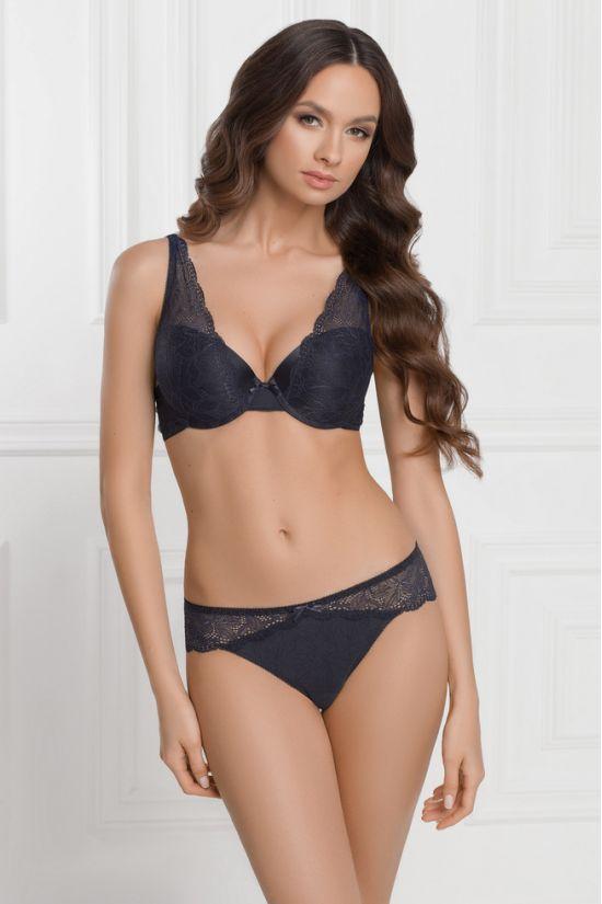Комплект EMMA - Jasmine Lingerie, колір: темно-синій