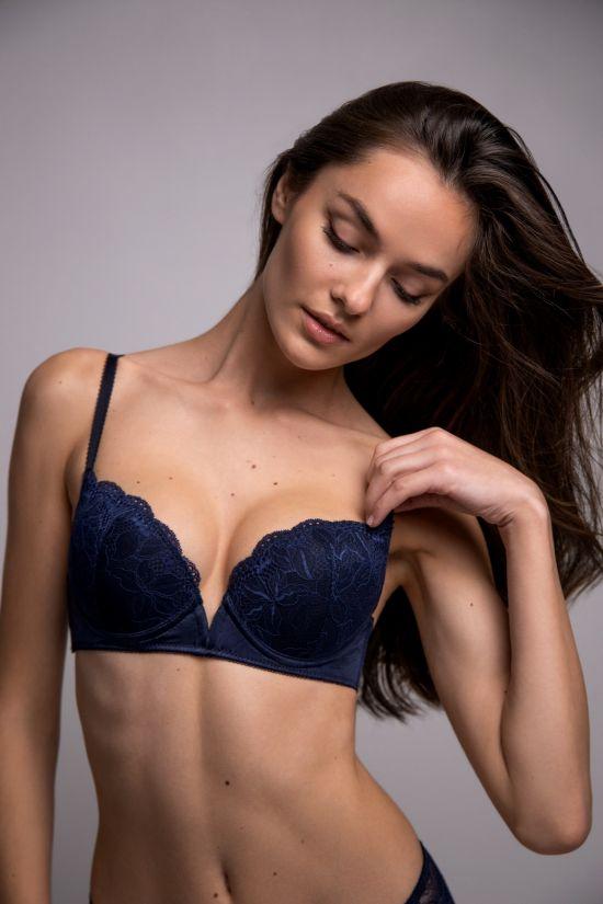 Бюстгальтер NITA - Jasmine Lingerie, колір: темно-синій