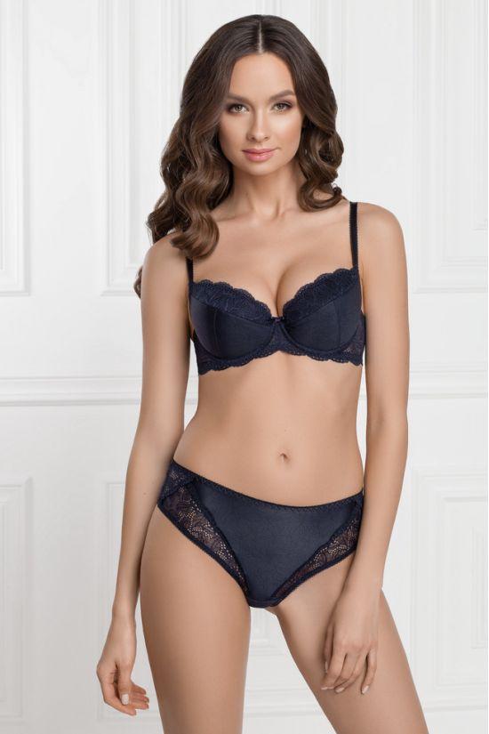 Комплект  VIKI  - Jasmine Lingerie, колір: темно-синій