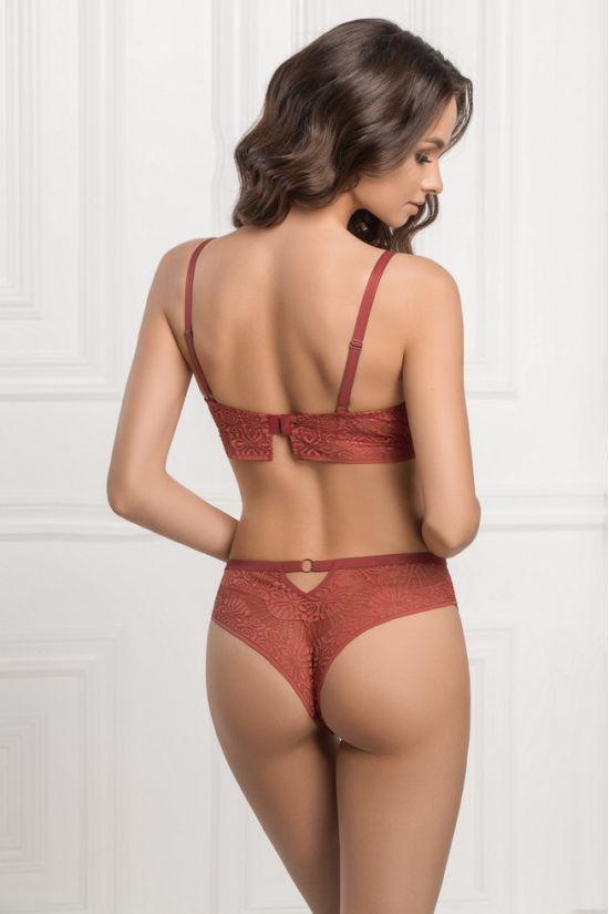 Комплект JULY- Jasmine Lingerie, цвет:  кирпичный