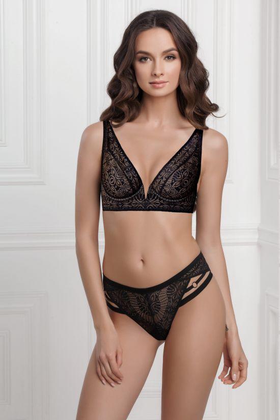 Комплект DELY- Jasmine Lingerie, цвет: черный