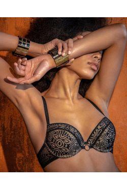 Бюстгальтер EDEN - Jasmine Lingerie, цвет: черный