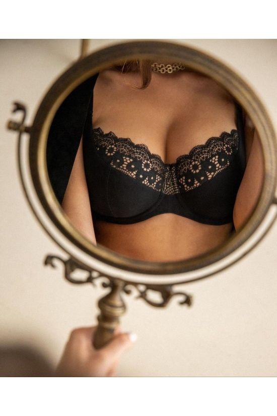 Бюстгальтер EVIN  - Jasmine Lingerie, колір: чорний