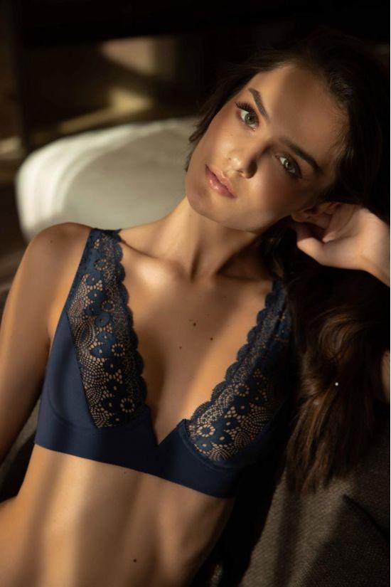 Бралет ENDY  - Jasmine Lingerie, колір: синій