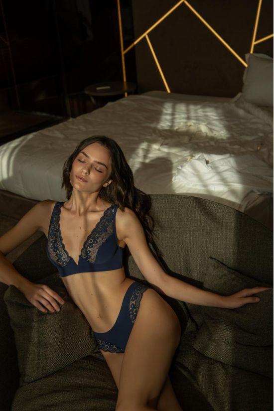 Комплект ENDY - Jasmine Lingerie, колір: синій